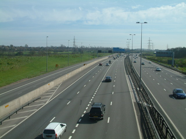English: Motorways ahead