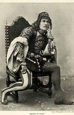 Victor Maurel-baritone-as Iago