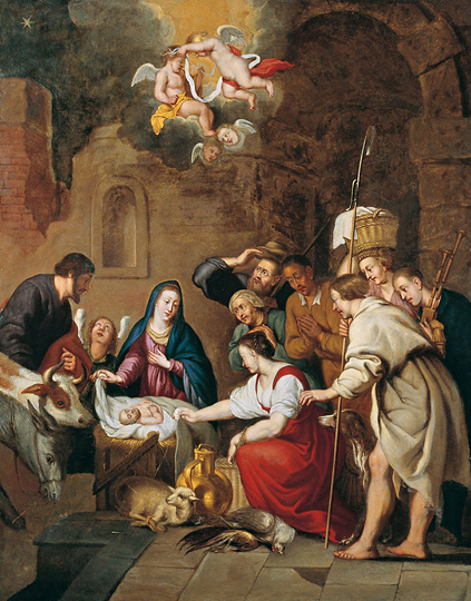 Anonymous 18th century Birth of Christ Christmas 2016