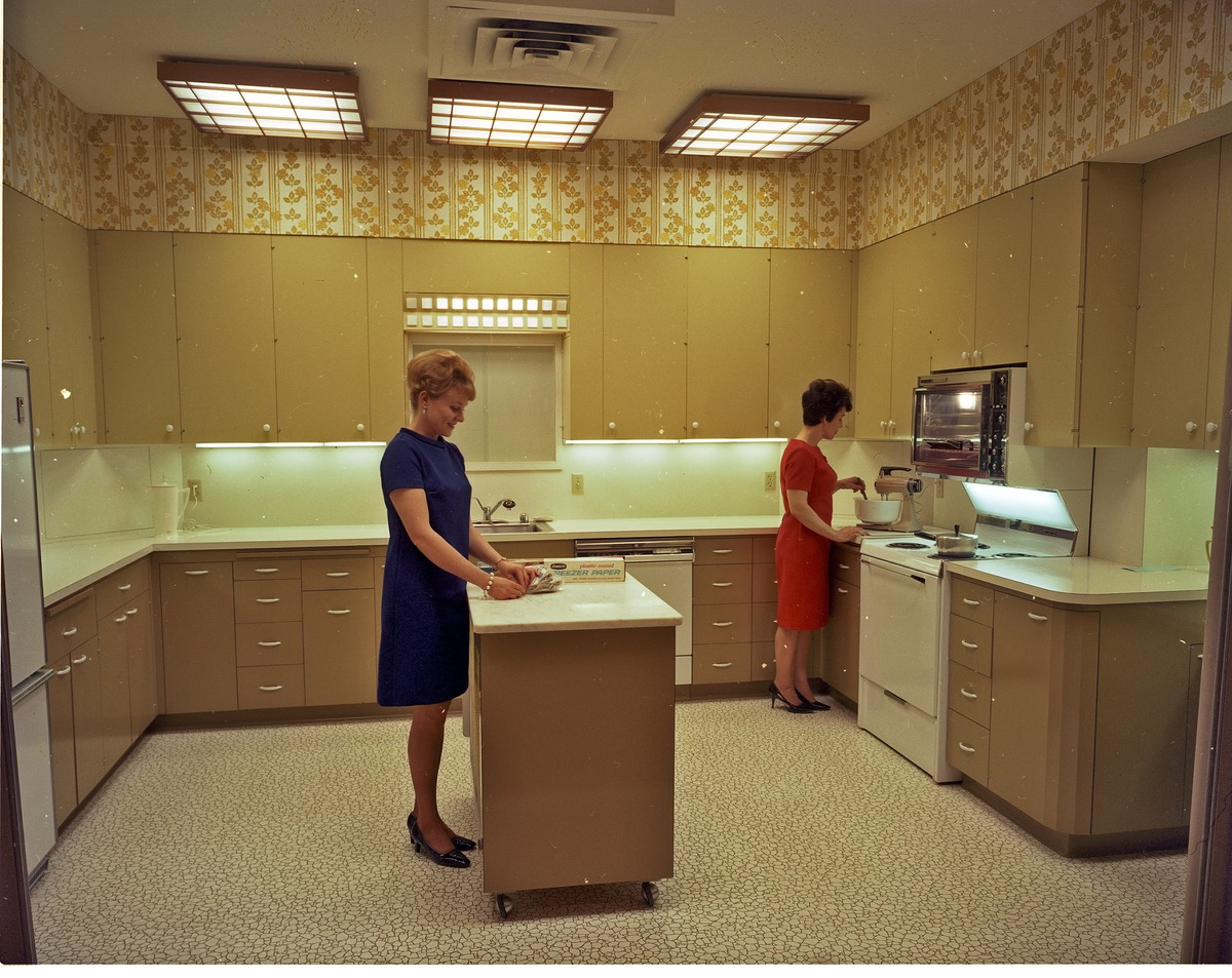 FileHome Economists In Kitchen Seattle 1968jpg