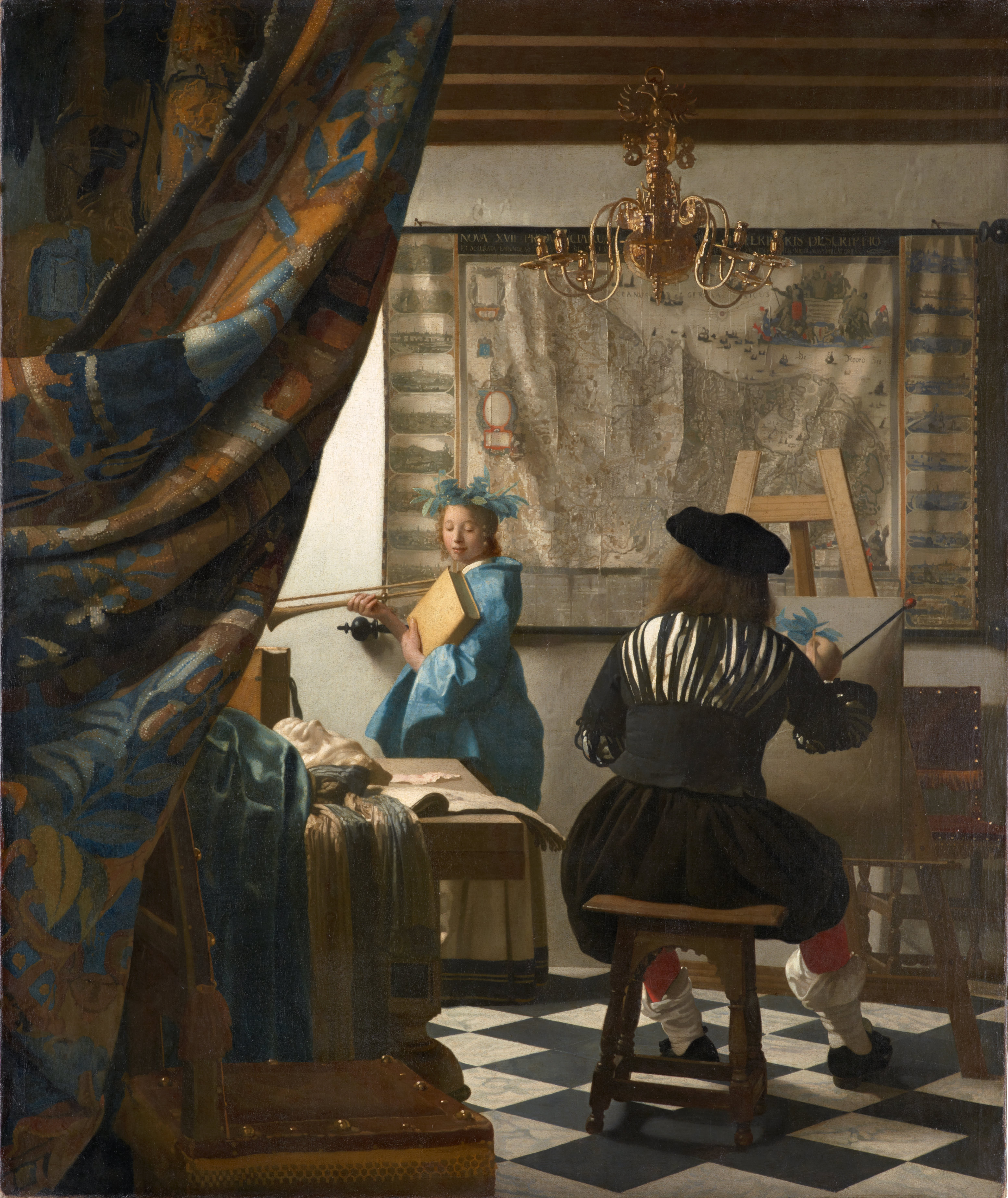 Genre painting   Wikipedia The Art of Painting by Jan Vermeer  ca  1660s   It was the 17th century  Dutch Masters like Vermeer who transformed genre scenes or genre painting   and genre