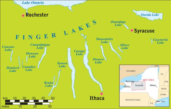 Die Finger Lake Region