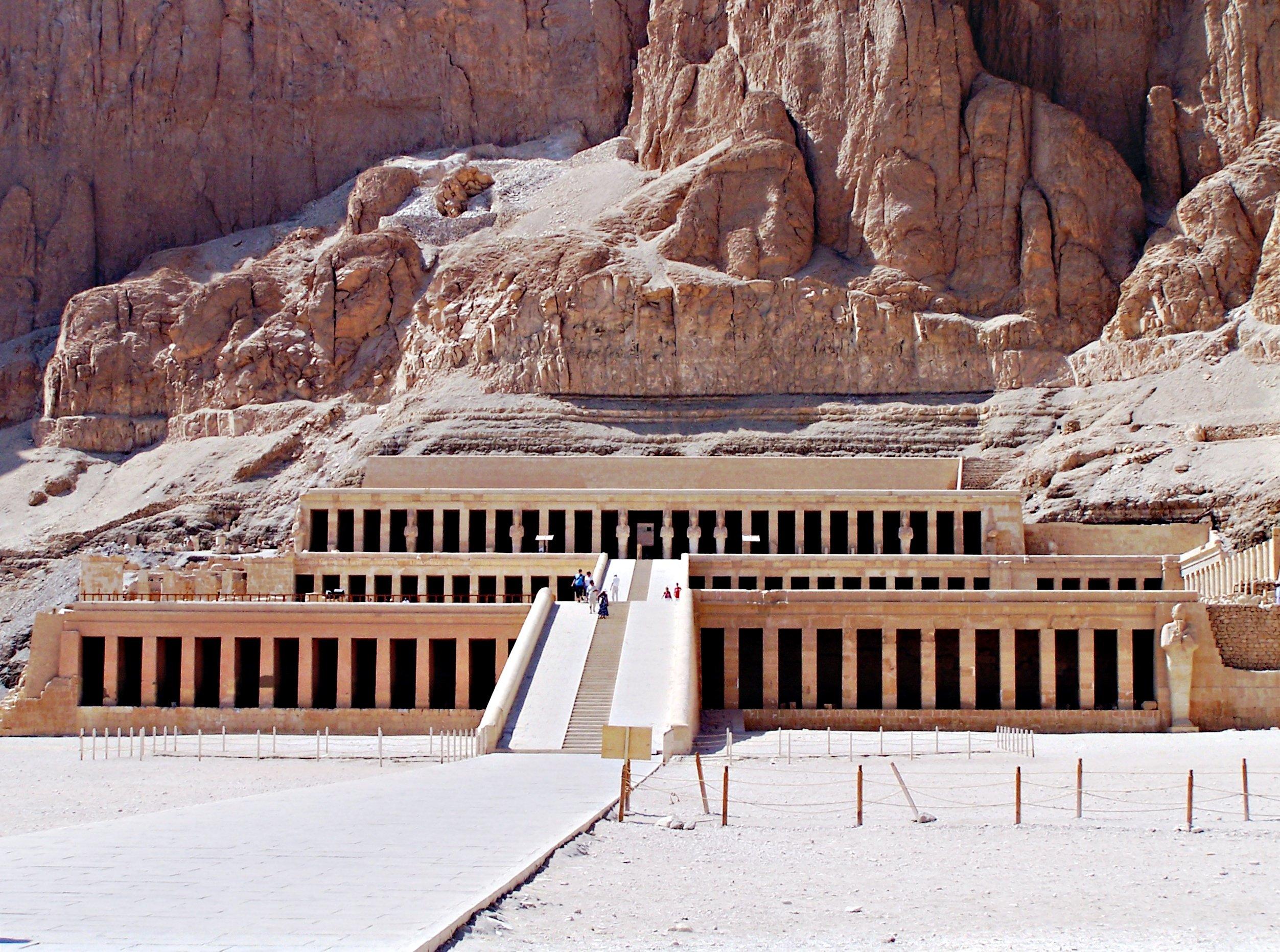 Temple of Hatshepsut in Luxor.