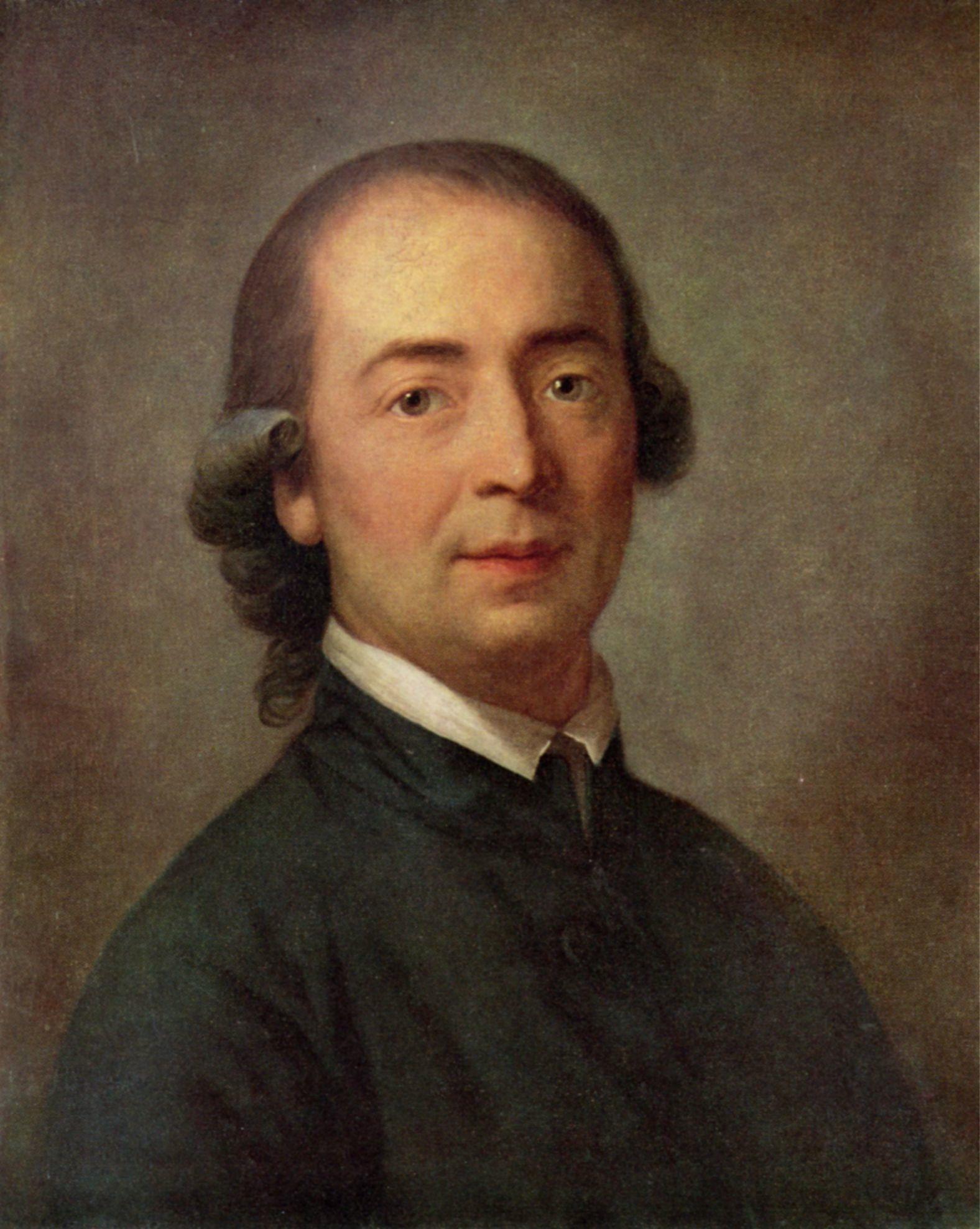 Johann Gottfried Herder, painting by Anton Graff, in 1785.