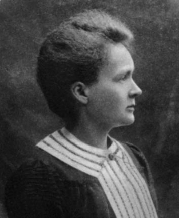 Polish/French physicists Marie Curie