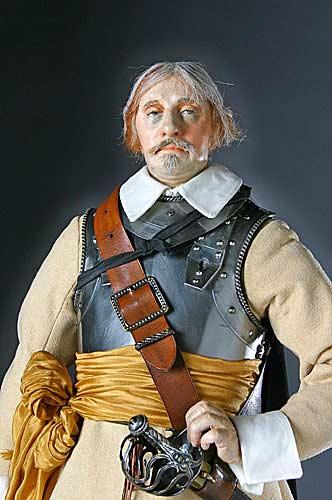 Oliver Cromwell, líder puritano