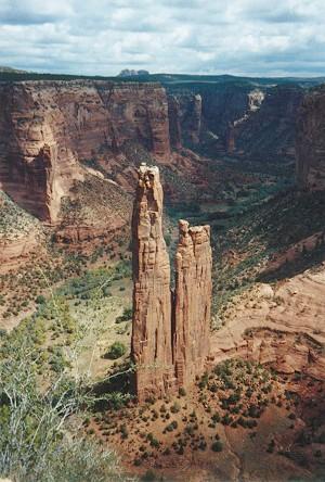 English: Spider Rock, Canyon de Chelly