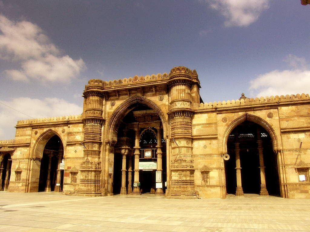 The Jama Masjid of Ahmedabad, Gujarat, India