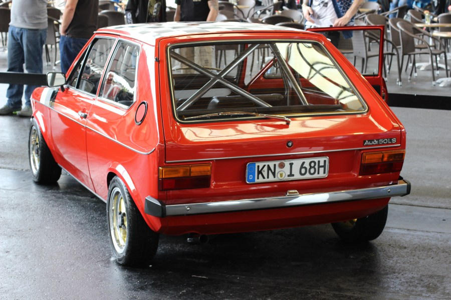 1965 volkswagen cars » Audi 50   Wikipedia Rear view