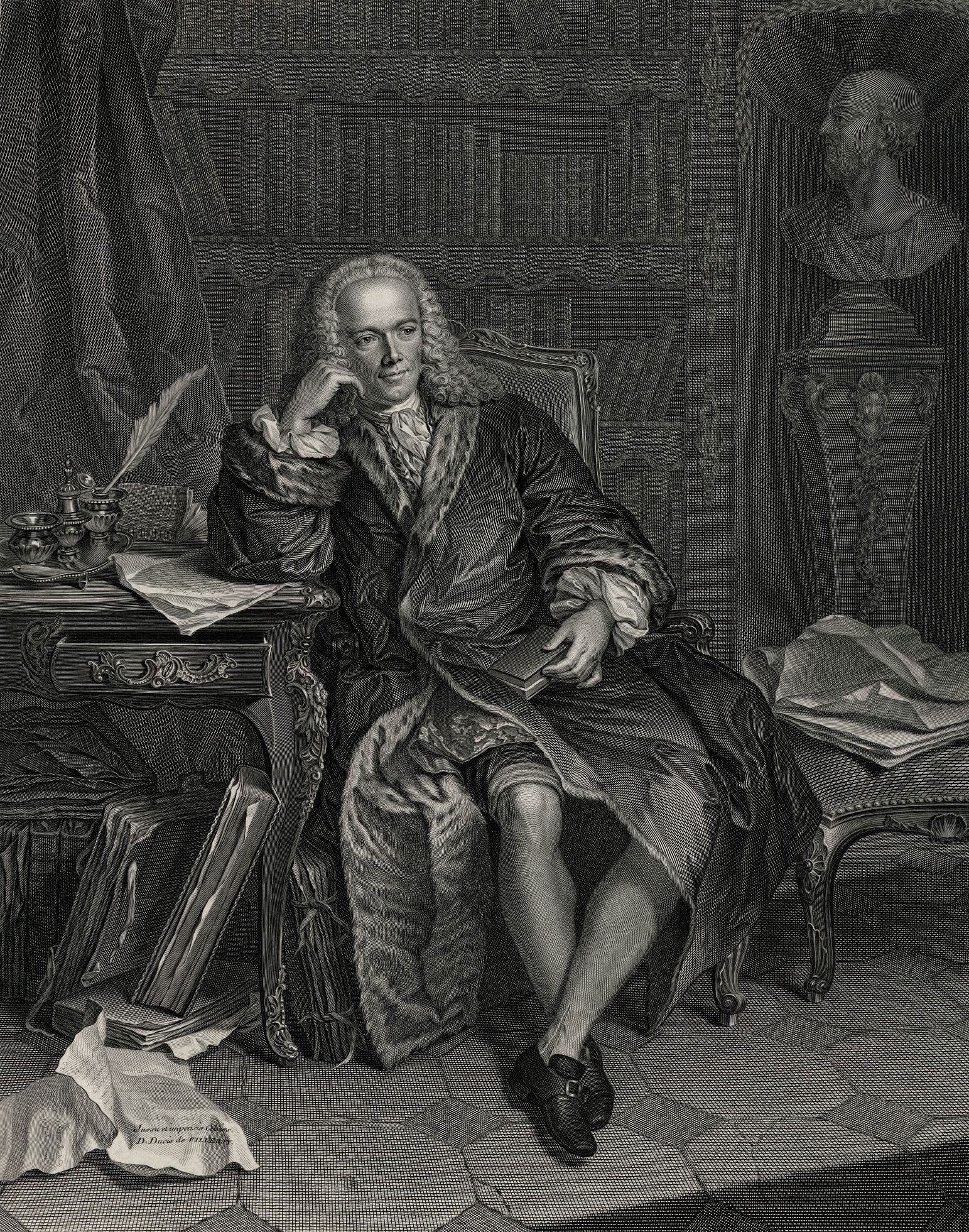 French economist François Quesnay (1694-1774)