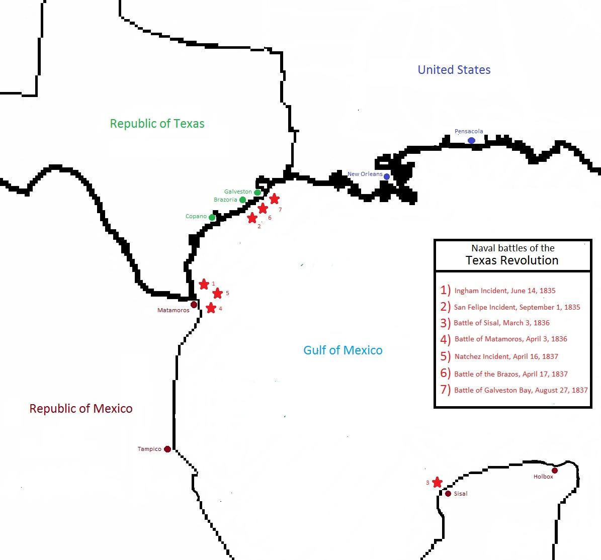 First Texas Navy