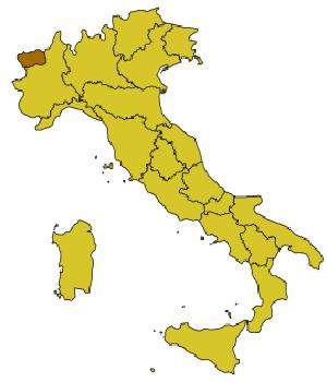 The Aosta region of Italy