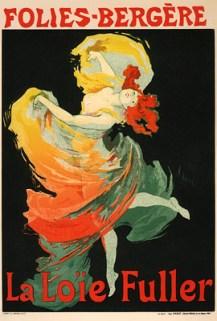 Affiche: Folies Berger: La Loïe Fuller