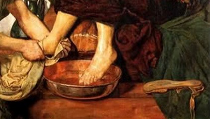 Image result for feet washing
