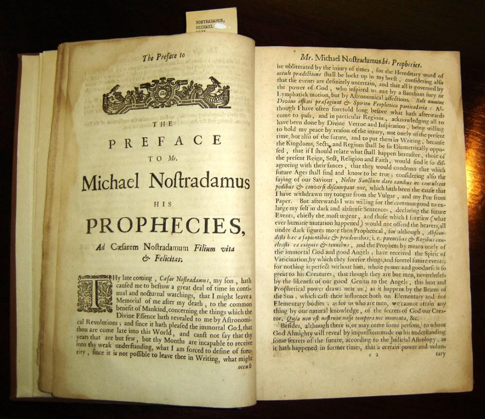 Nostradamus aveva previsto l'11 settembre? Lo strano caso di un libro uscito nel 1997