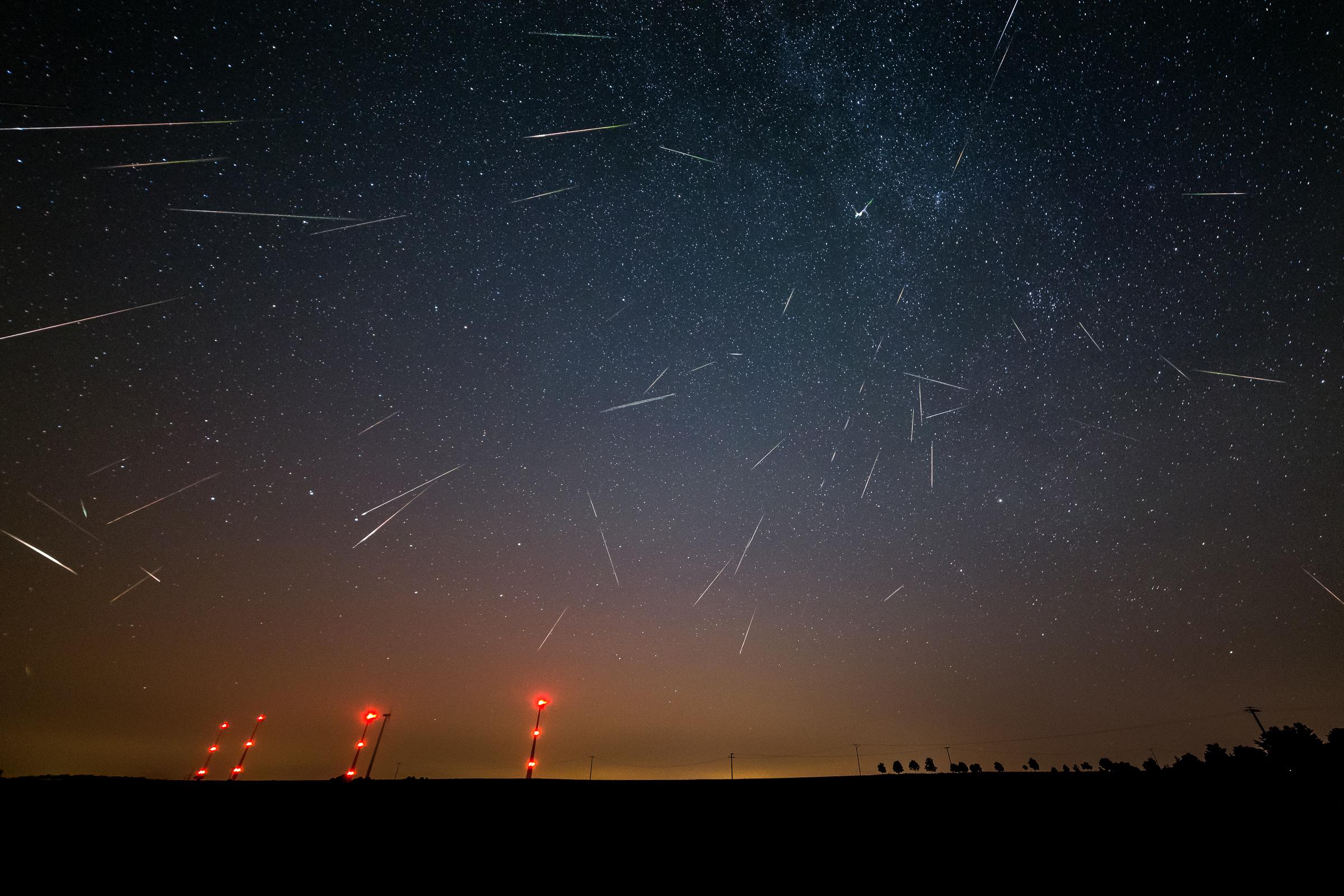 Falling Stars Sky