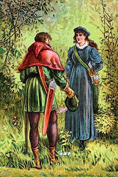 Robin Hood and Maid Marian (poster, ca. 1880)