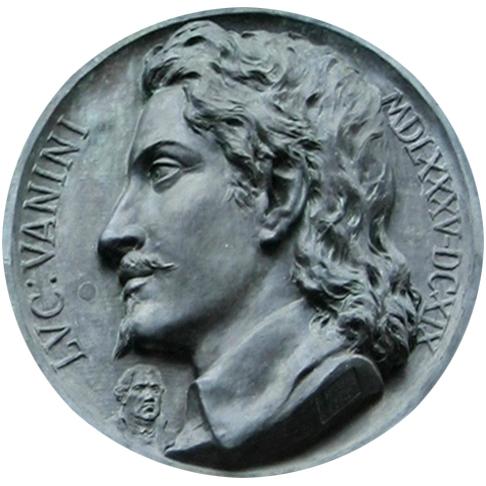 6655 - Roma - Ettore Ferrari, Giulio Cesare Vanini (1889) - Foto Giovanni Dall'Orto, 6-Apr-2008.jpg