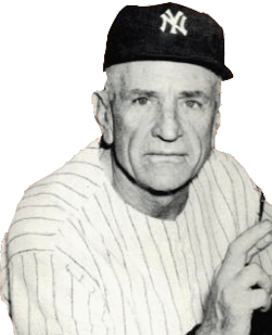 English: New York Yankees manager Casey Stenge...