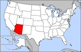 Arizona AEB estatu handienetako bat.