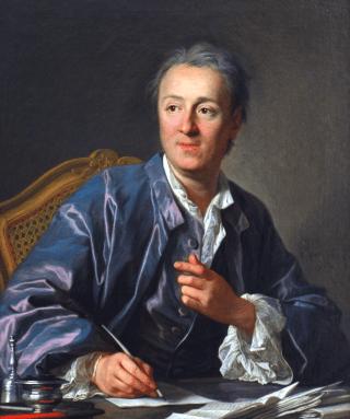 Diderot, por Louis-Michel van Loo