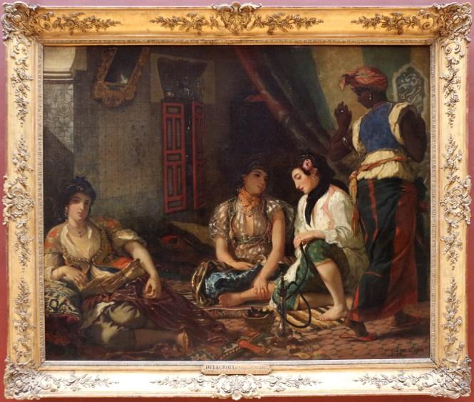 File Eugène Delacroix Le Donne Di Algeri Nei Loro