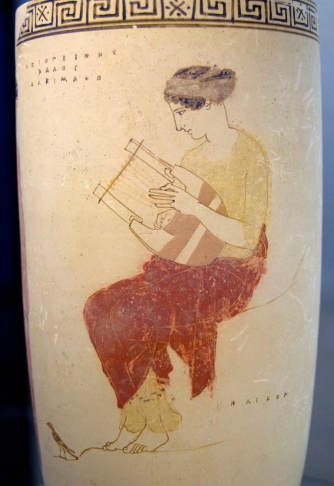 竪琴リラの画像