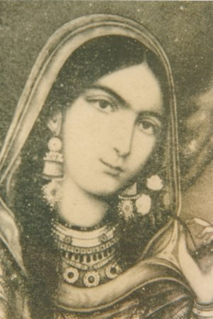 English: Begum Hazrat Mahal, also known as Beg...