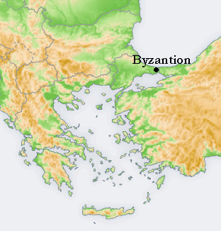 Byzantion, Constantinople