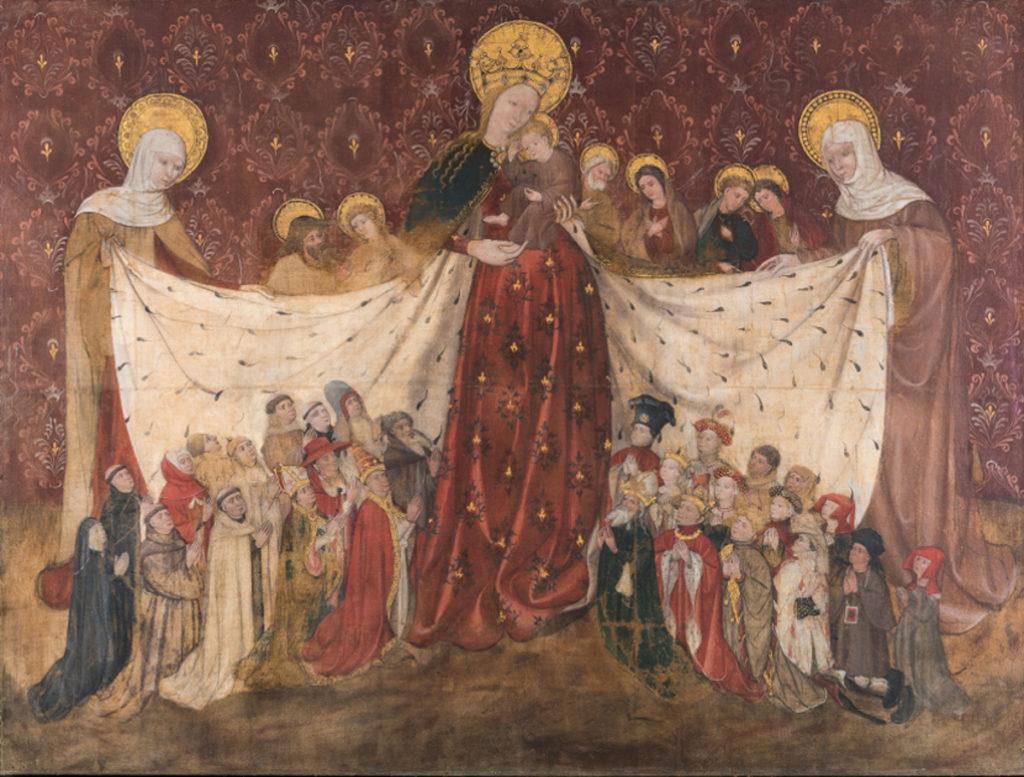 The Virgin's Mantle--Vierge au manteau, Ville du Puy-en-Velay, 1417, Musée Croatier