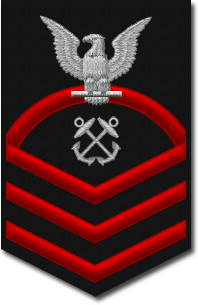 English: US Navy Chief Petty Officer shoulder ...