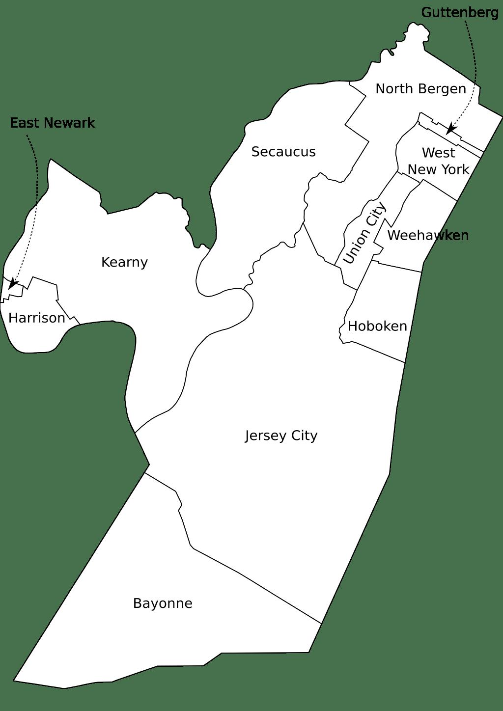 File Hudson County Nj Municipalities Labeled