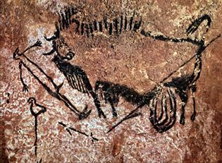 scène puits lascaux