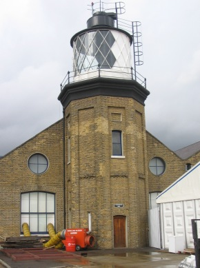 English: Bow Creek Lighthouse at .