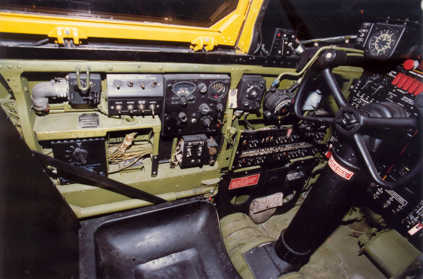 File Douglas B 26c A 26c Cockpit 2 Usaf