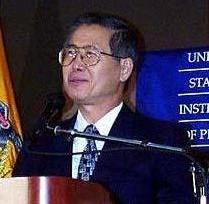 President Alberto Fujimori of Peru. February 5...