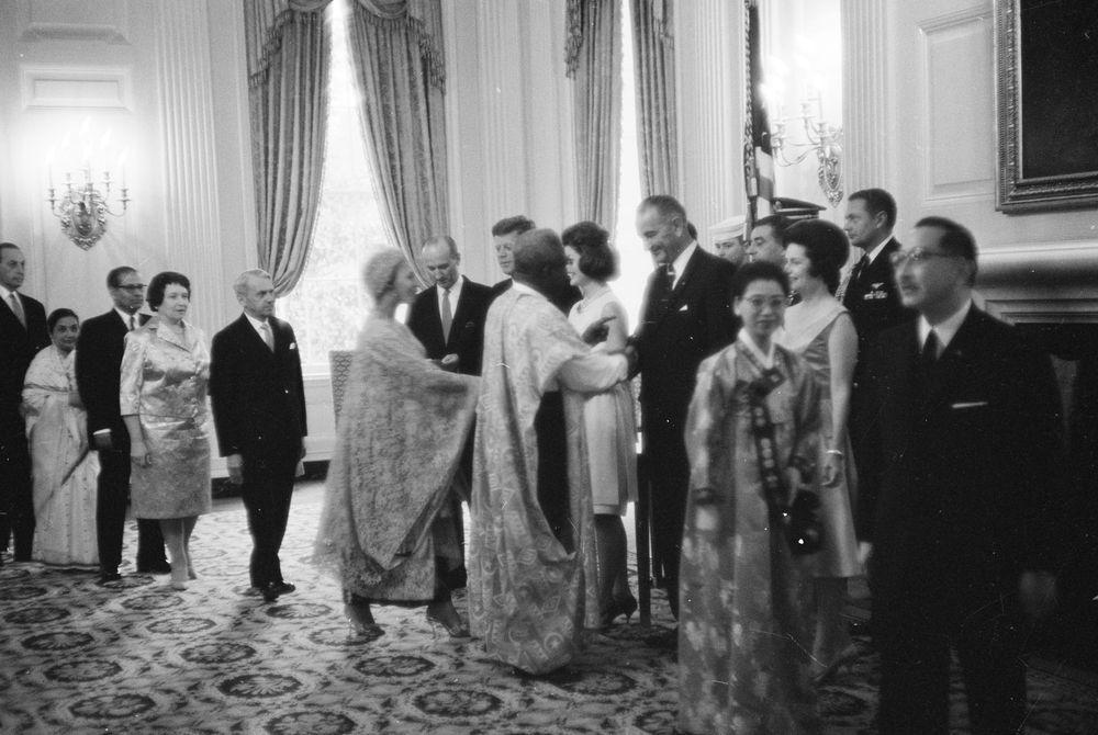 Lyndon B Johnson Steckbrief Promi Geburtstagede