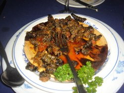 Mopane-worm-meal