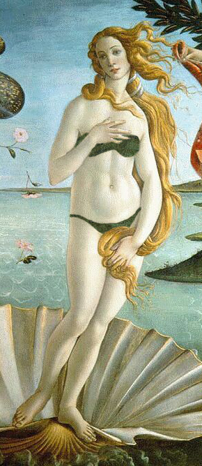 "Support censorship: Botticelli's ""Birth o..."