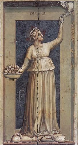 Caritas, Giotto di Bondone