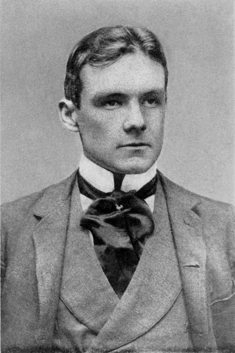 Richard Harding Davis portrait, c. 1890