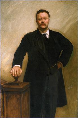 English: John Singer Sargent, Theodore Rooseve...