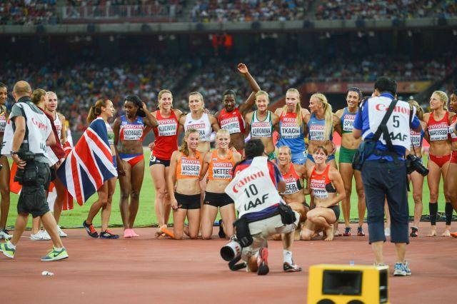 2015 World Championships In Athletics Womens Heptathlon