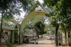 Baptist Boys High School, main gate, Oke saje, Abeokuta, Ogun state.jpg