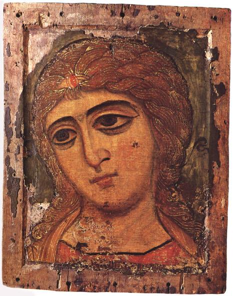 A 12th century Novgorodian angel