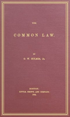 Cover of the first edition of The Common Law