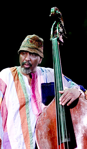 English: Photography of William Parker at Jazz...
