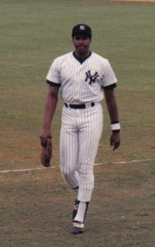 Dave Winfield in New York Yankees Spring Train...