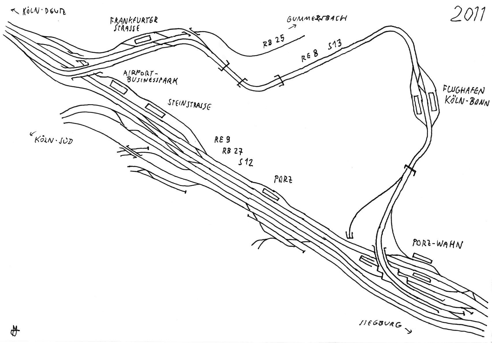 File Gleisplan Der Flughafenbahn Koln Bonn