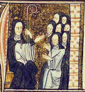 Image result for st. hildegard of bingen and nuns